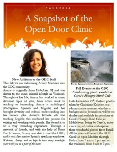 open door clinic newsletter 14