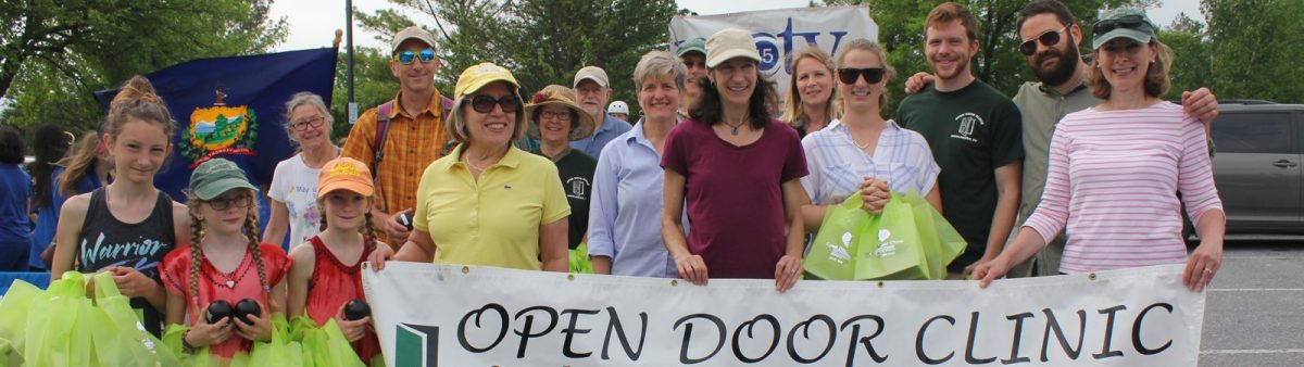 volunteer at the open door clinic