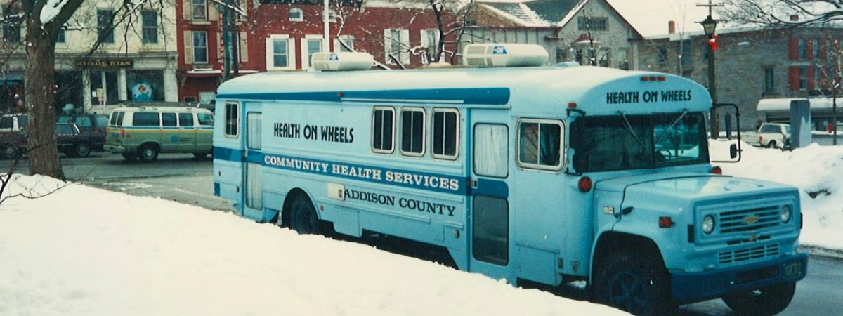 open door clinic - health on wheels bus