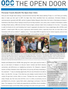 Open Door Clinic newsletter 1117
