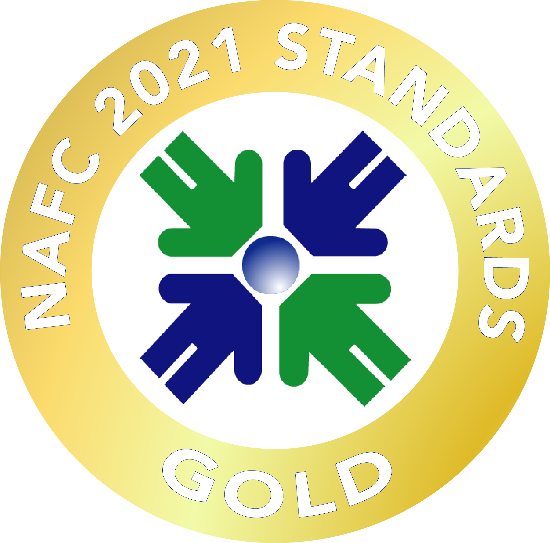 NAFC 2021 Standards Seal